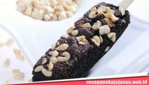 Resep jajanan Brownies Beku Stik