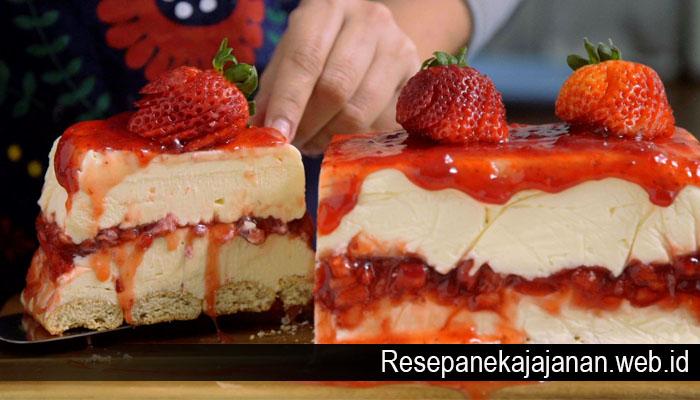 Resep Cake Keju Nikmat Untuk Keluarga