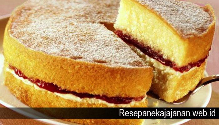 Resep Membuat Sponge Cake Yang Lembut