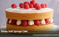 Resep Soft Sponge Cake