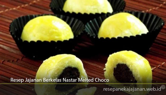 Resep Jajanan Berkelas Nastar Melted Choco