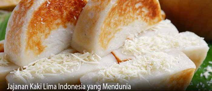 Jajanan Kaki Lima Indonesia yang Mendunia